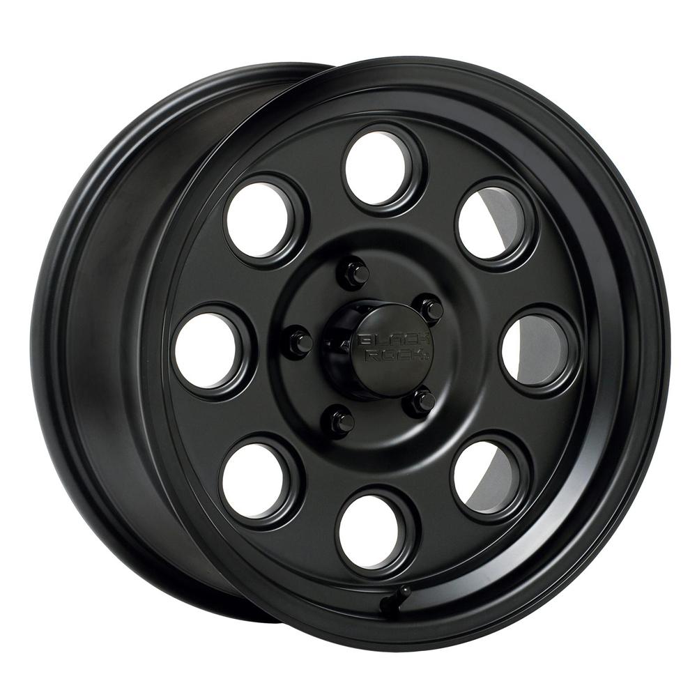 Black Rock Wheels 908B Yuma - Matte Black Rim