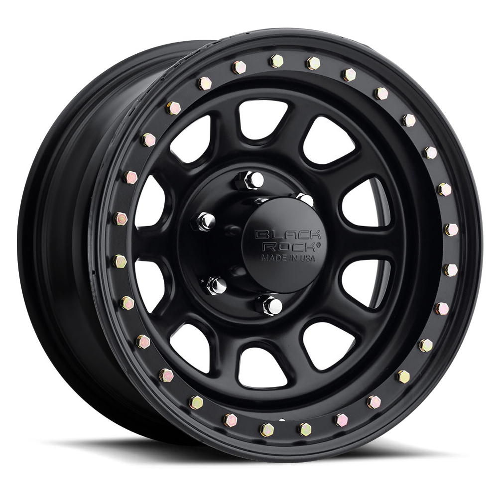 Black Rock Wheels 953 Street Lock - Black Rim