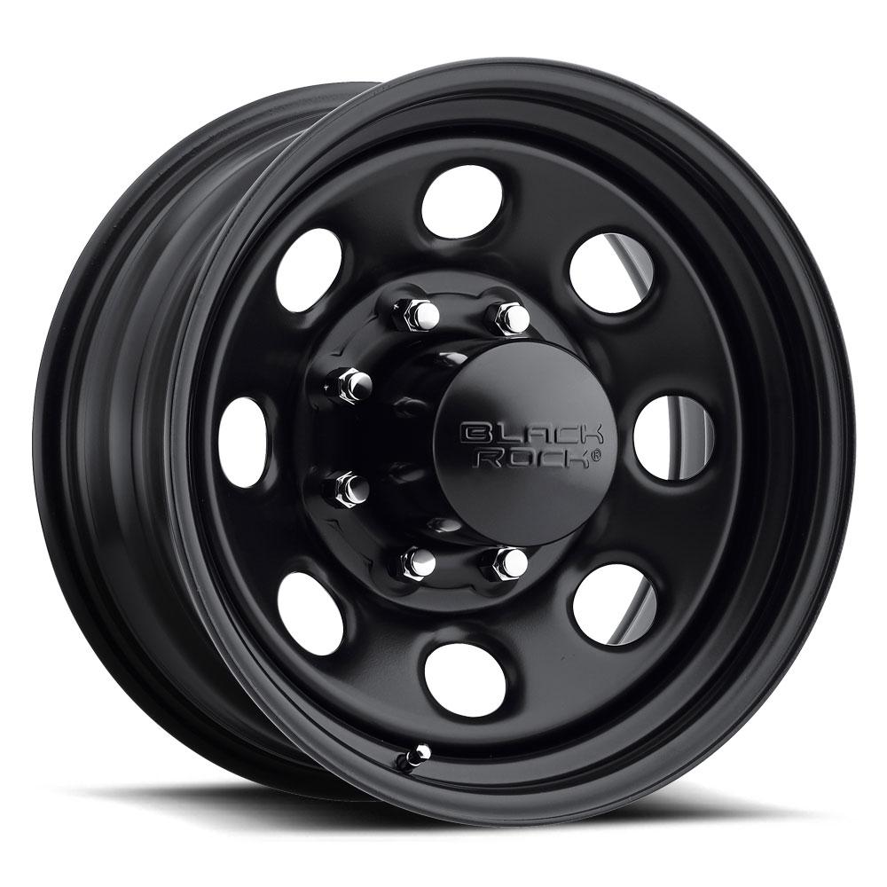Black Rock Wheels 997 Type 8 - Matte Black Rim