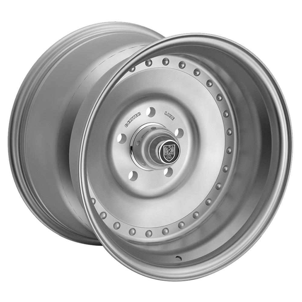 Centerline Wheels 005P Auto Drag - Polished Rim - 15x8.5