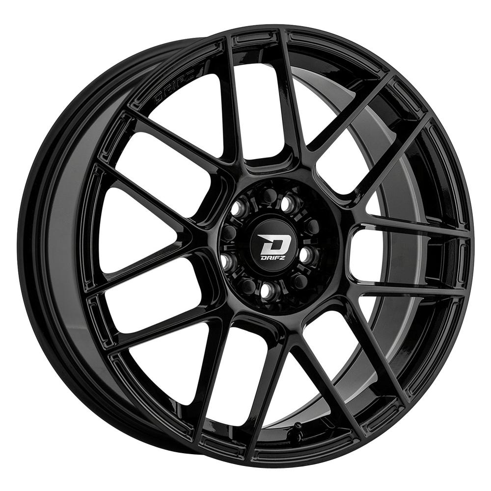 Drifz Wheels 313B - Gloss Black Rim