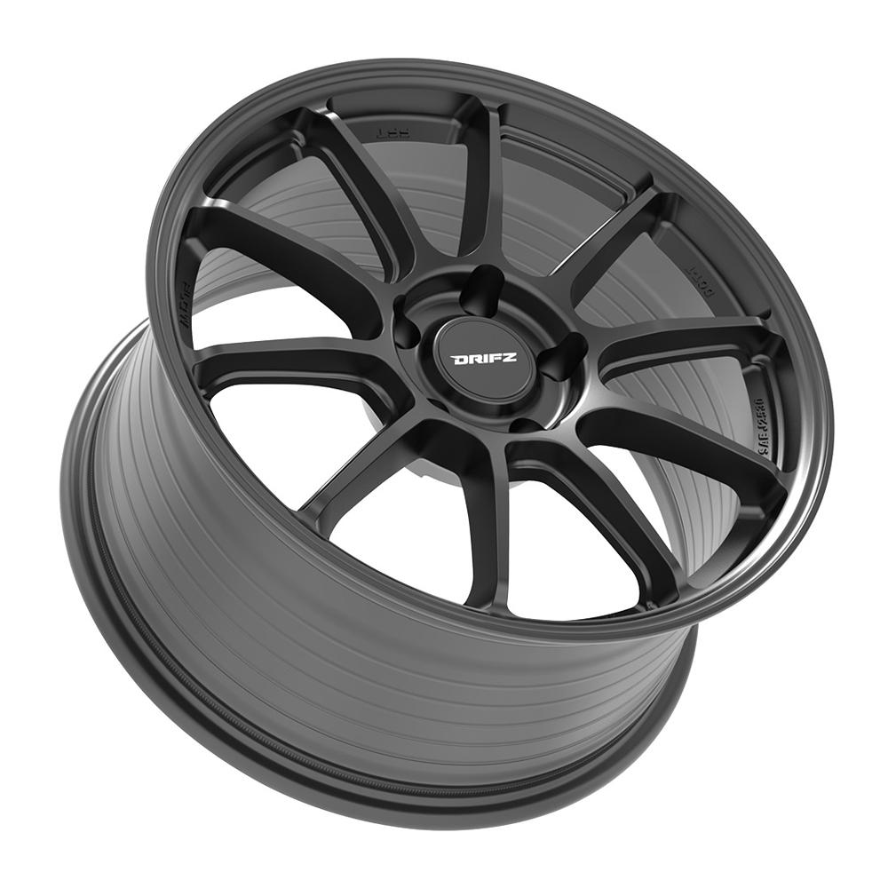 Drifz Wheels 317SB - Satin Black Rim