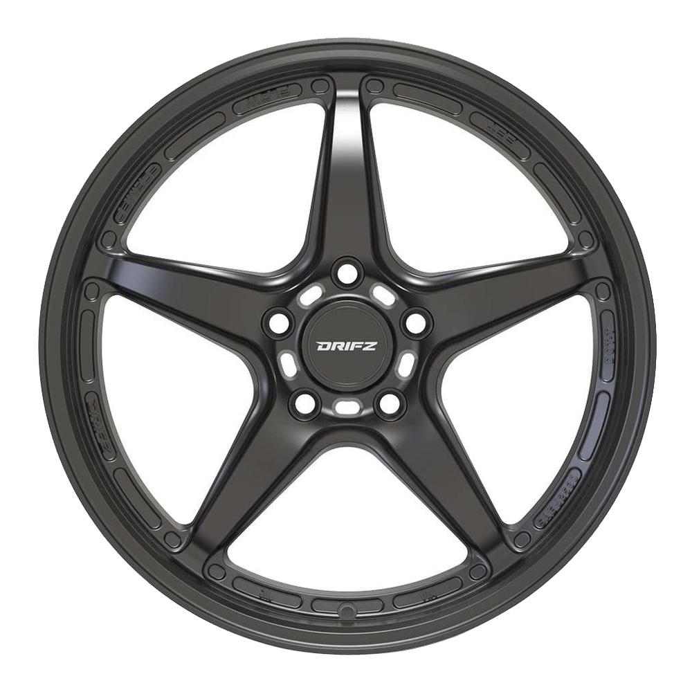 Drifz Wheels 318SB - Satin Black Rim
