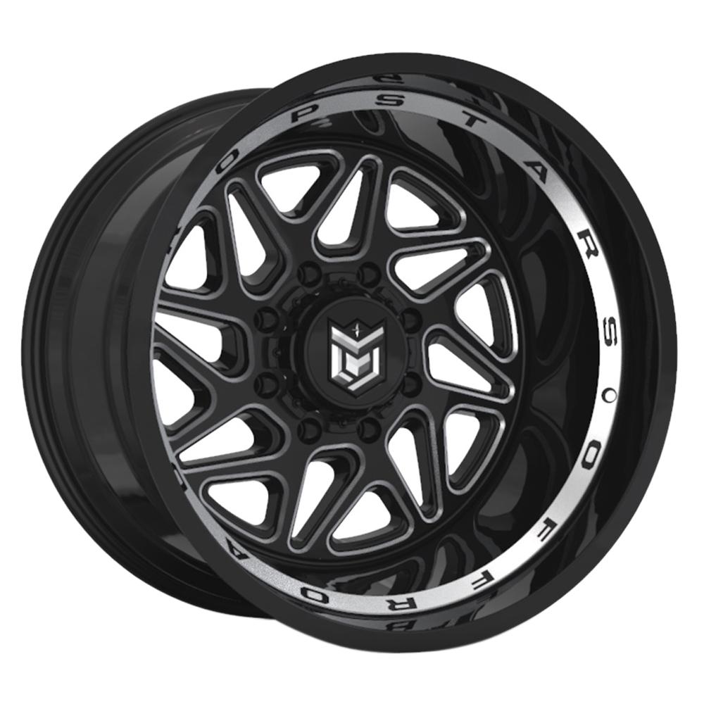 Dropstars Wheels 657BM - Gloss Black Rim