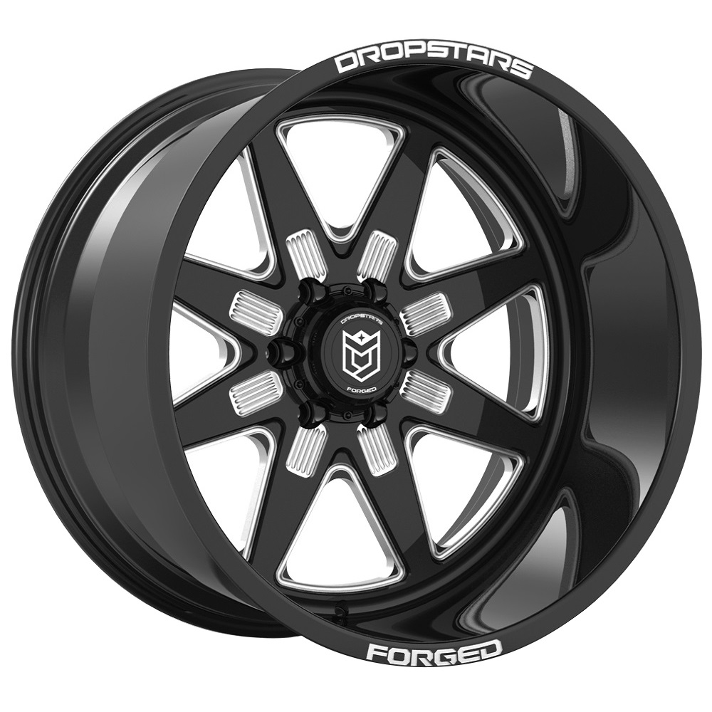 F61 BM1 Forged - Gloss Black w/ CNC Milled Accents
