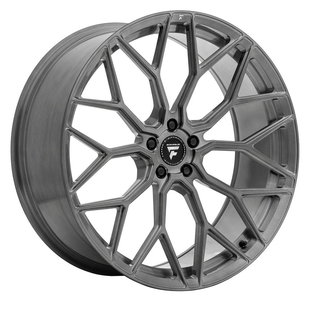Fittipaldi Wheels FSF12 HB - Brushed w/Dark Tint Clear Coat Rim
