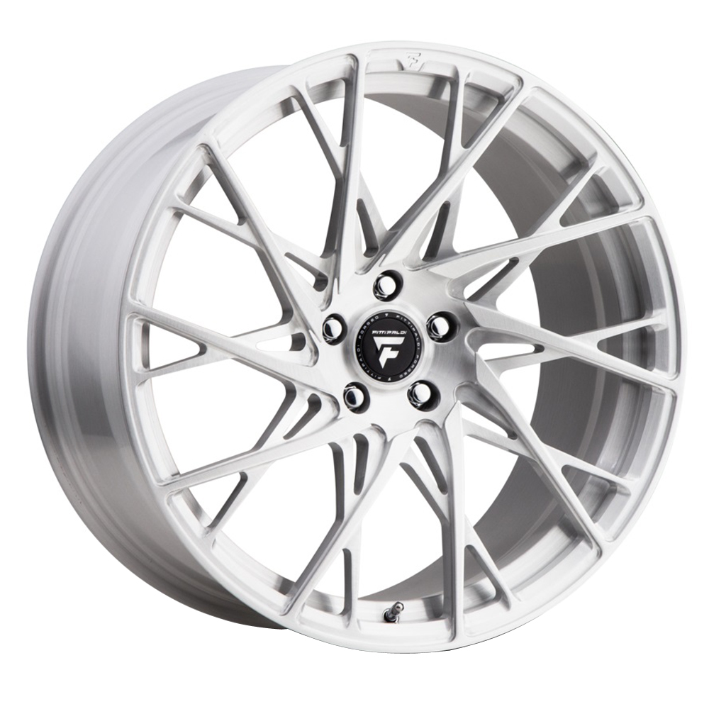 Fittipaldi Wheels FSF24 CB - Brushed with Gloss Clear-Coat Rim