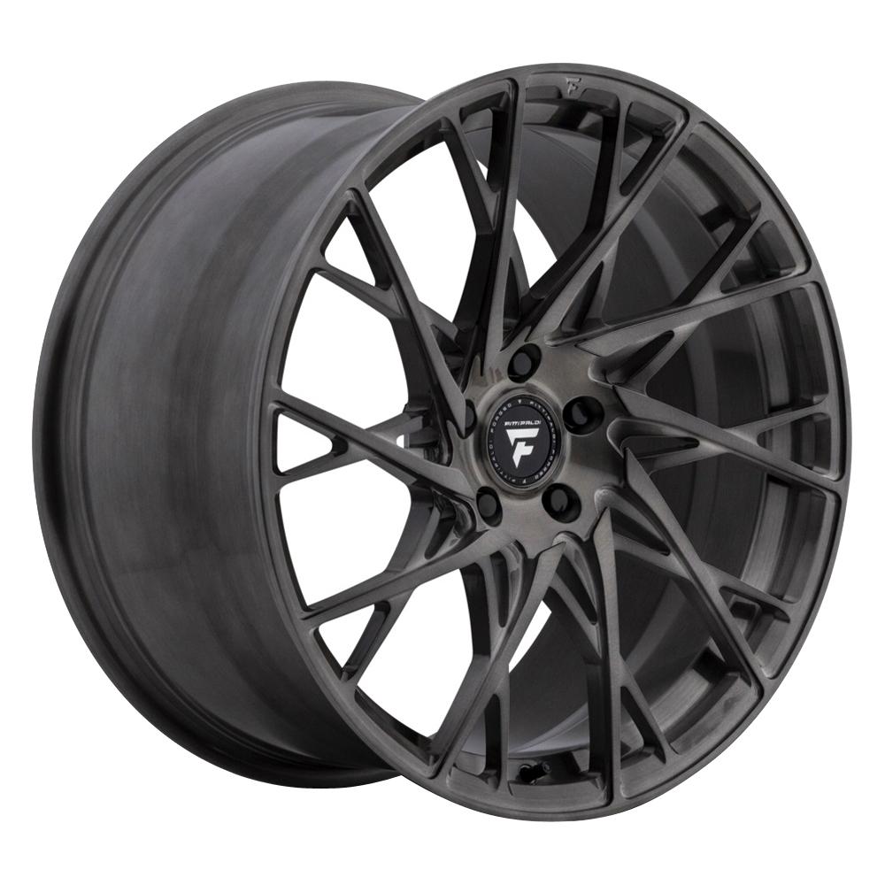 Fittipaldi Wheels FSF24 HB - Brushed w/Dark Tint Clear Coat Rim