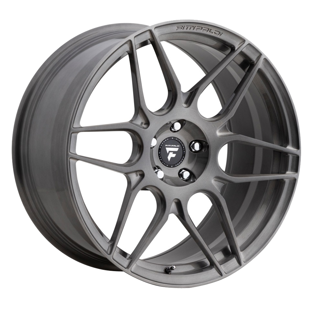 Fittipaldi Wheels FSF27 HB - Brushed w/Dark Tint Clear Coat Rim