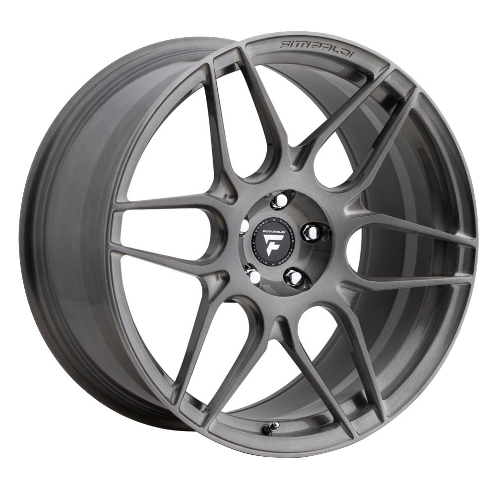 Fittipaldi Wheels FSF27 HB - Brushed w/Dark Tint Clear Coat Rim