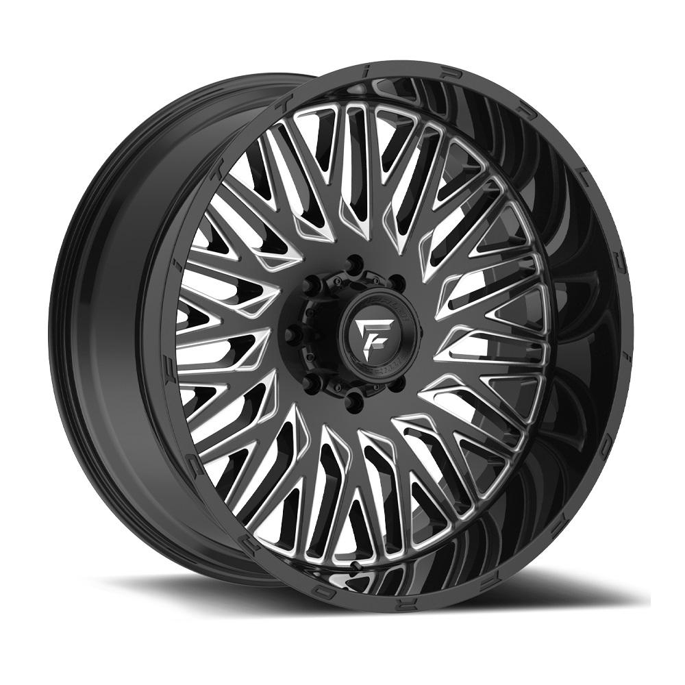 Fittipaldi Wheels FTC07 - Black Milled Rim