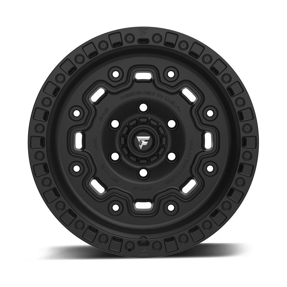 Fittipaldi Wheels FTC16 - Satin Black Rim