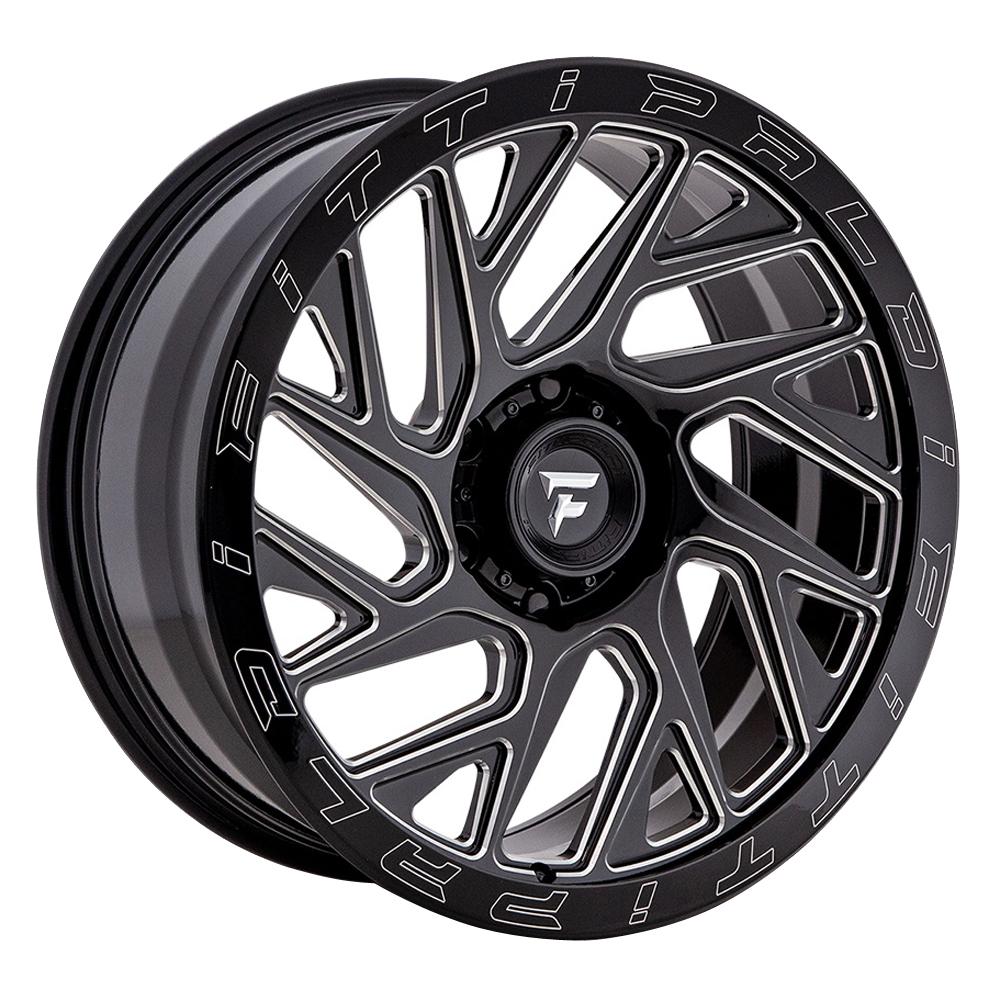 Fittipaldi Offroad Wheels FTF01 X - Black Milled Rim