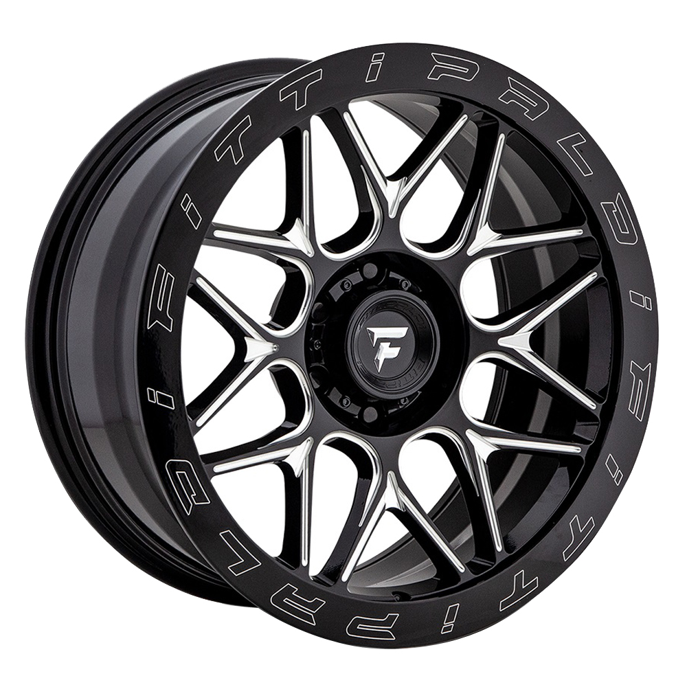 Fittipaldi Offroad Wheels FTF02 X Trail - Black Milled Rim
