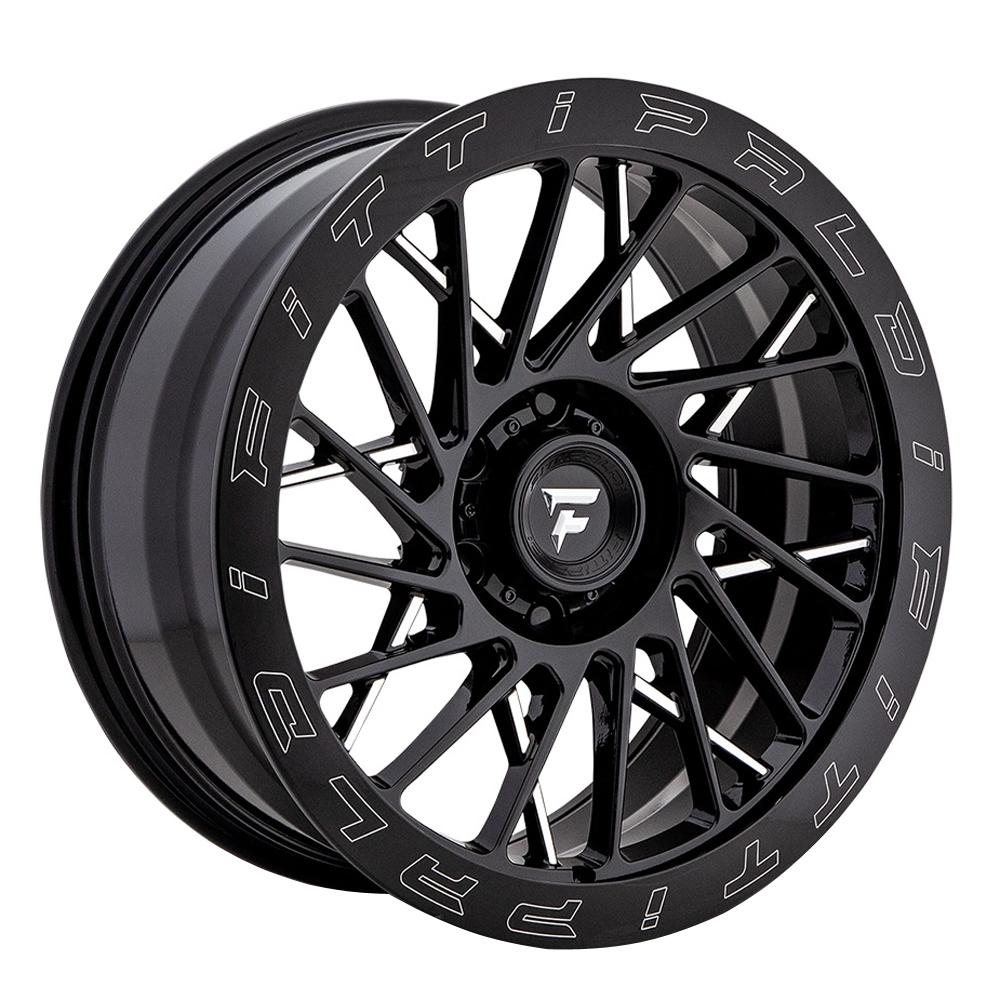 Fittipaldi Offroad Wheels FTF03 X Trail - Black Milled Rim