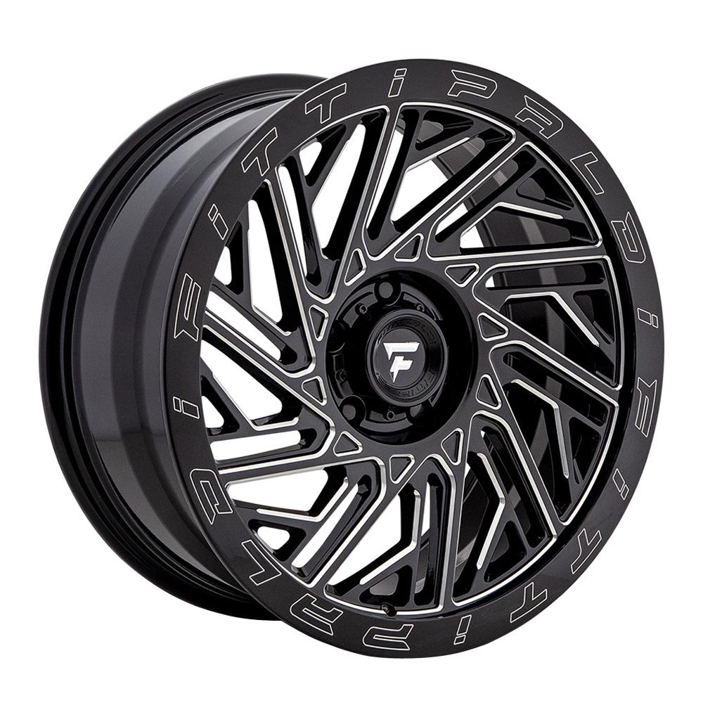 Fittipaldi Offroad Wheels FTF05 X Trail - Black Milled Rim