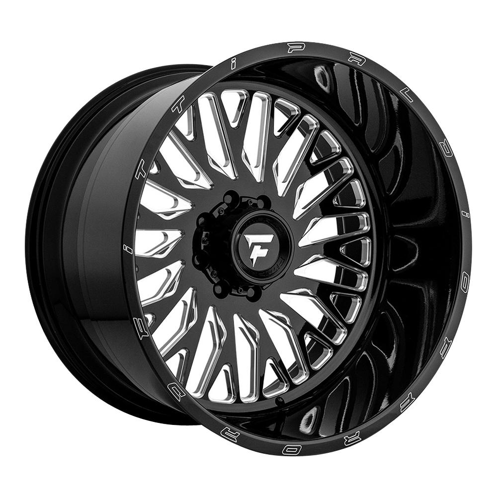 Fittipaldi Offroad Wheels FTF07 Alpha - Black Milled Rim