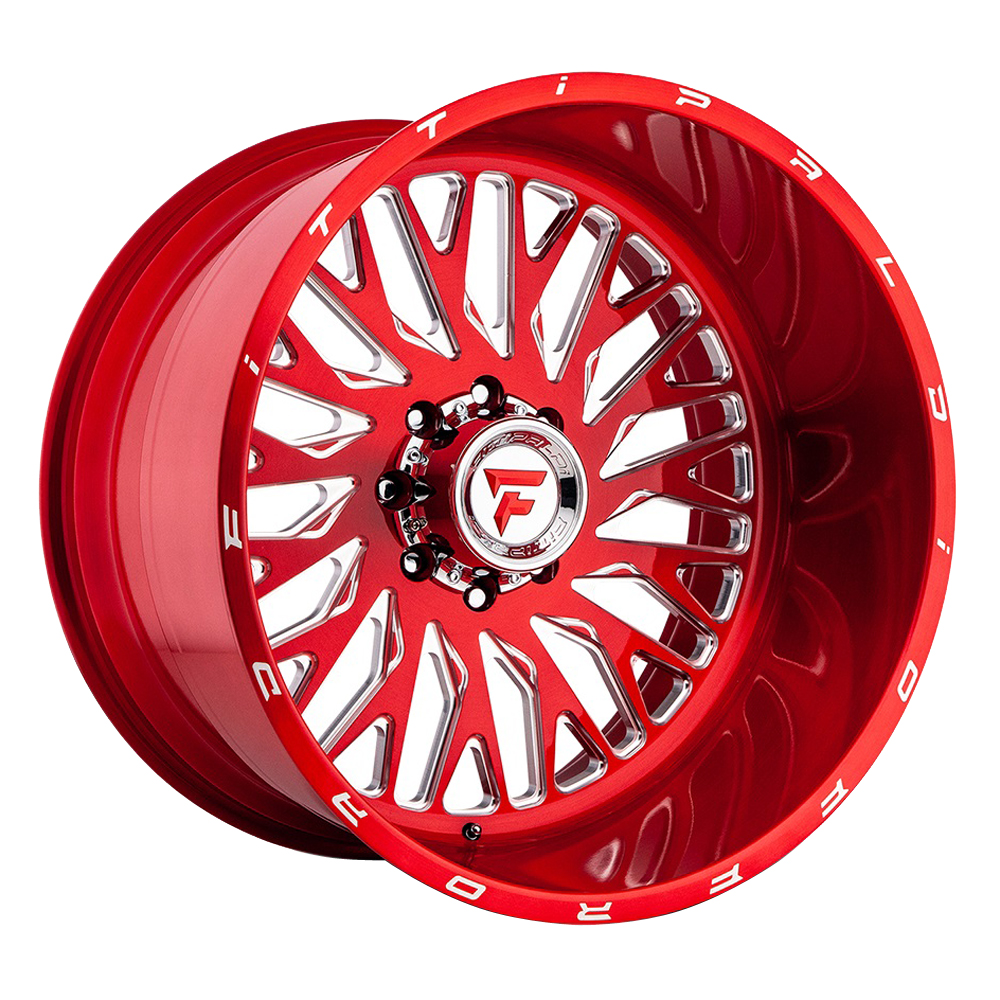 Fittipaldi Offroad Wheels FTF07 Alpha - Red Tint Rim
