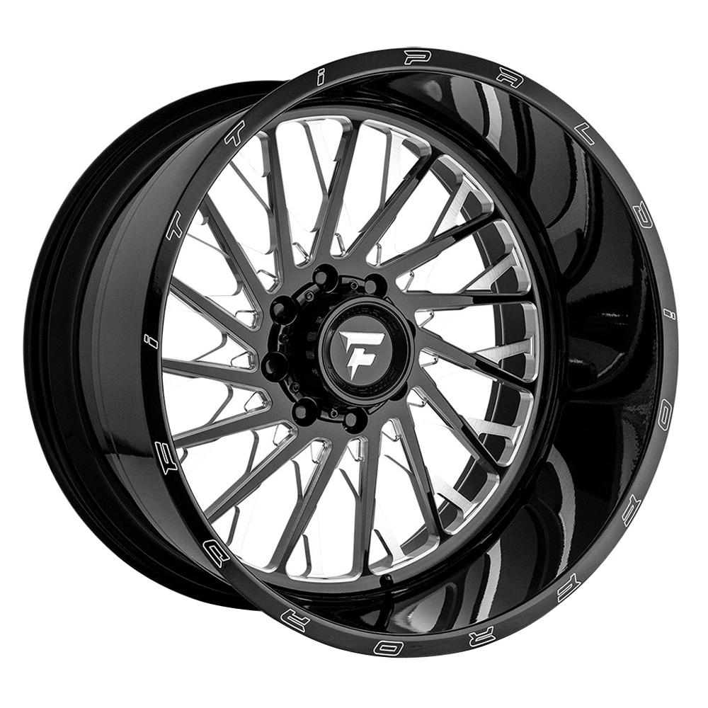Fittipaldi Offroad Wheels FTF08 Alpha - Black Milled Rim