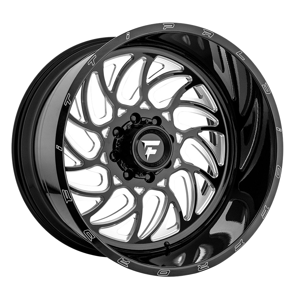 Fittipaldi Offroad Wheels FTF09 Alpha - Black Milled Rim