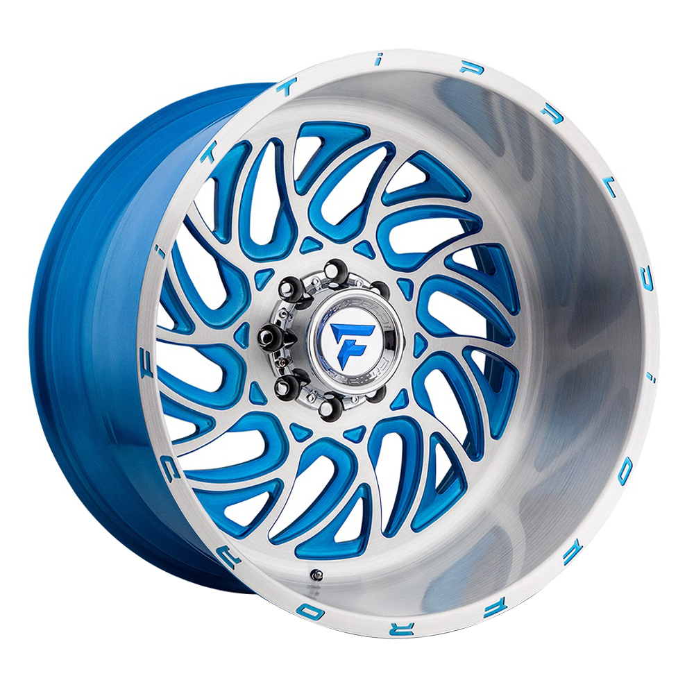 Fittipaldi Offroad Wheels FTF09 Alpha - Brushed Blue Rim