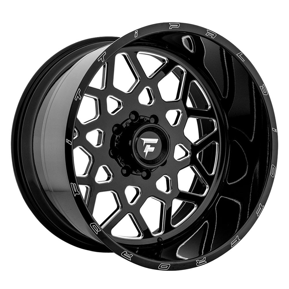 Fittipaldi Offroad Wheels FTF11 Alpha - Black Milled Rim