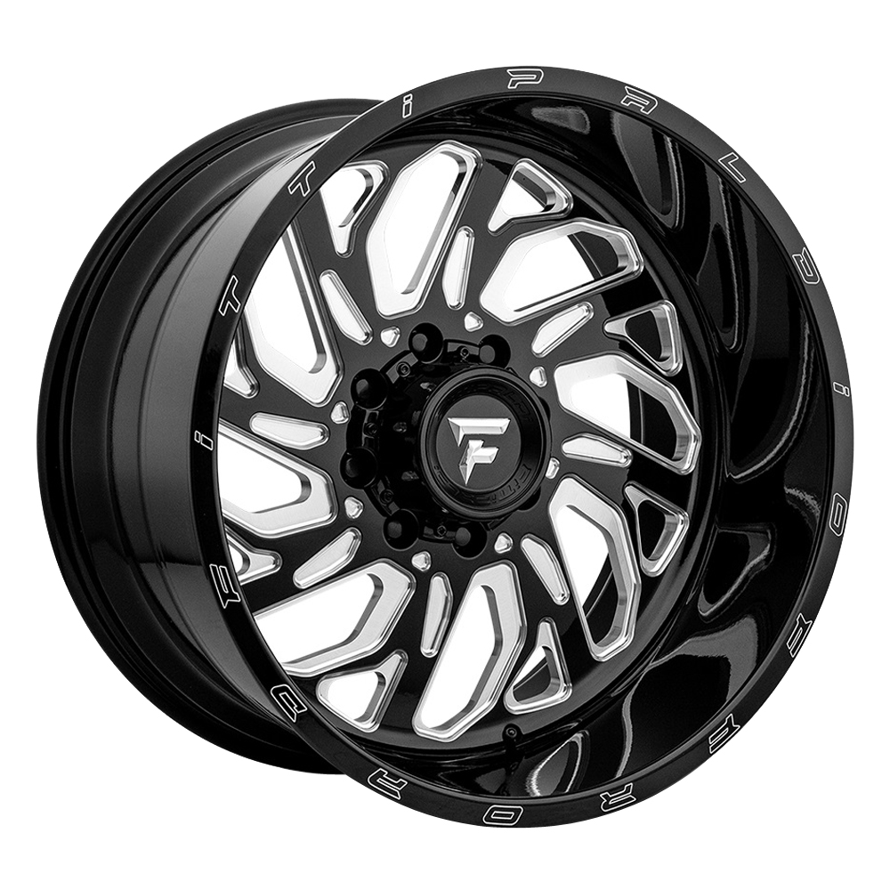Fittipaldi Offroad Wheels FTF17 Alpha - Black Milled Rim