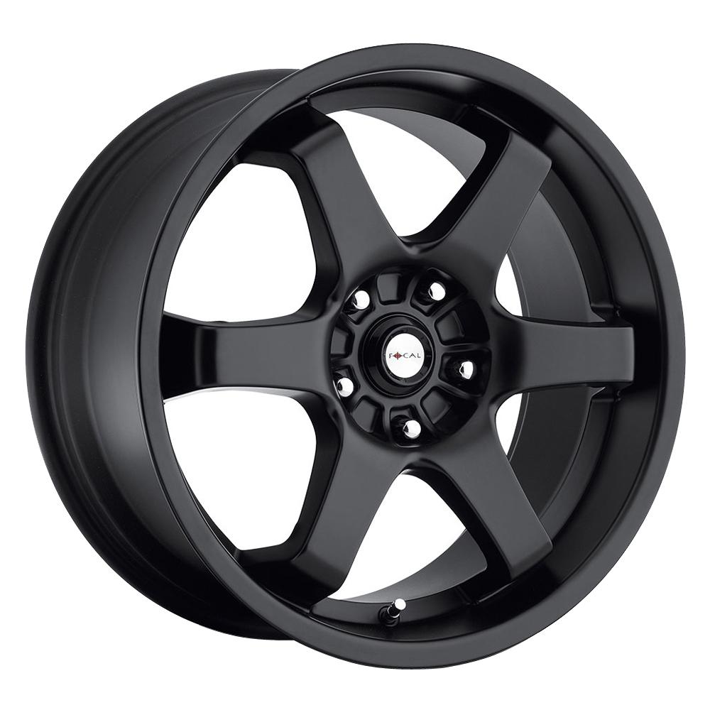 Focal Wheels 421 X - Satin Black Rim