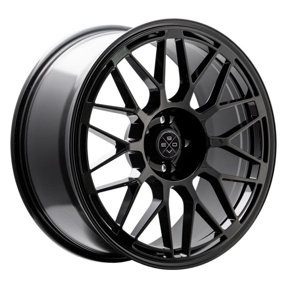 Fondmetal Wheels 197B 9EVO - Gloss Black Rim
