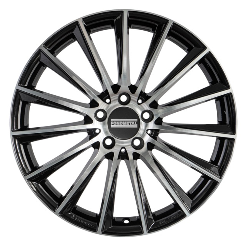 Fondmetal Wheels Fondmetal Wheels 195MB Aidon - Gloss Black Machined