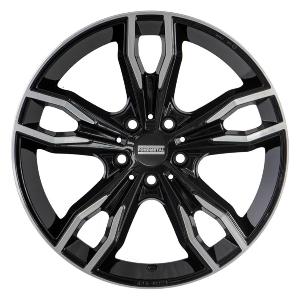 Fondmetal Wheels Fondmetal Wheels 193MB Alke - Gloss Black Machined