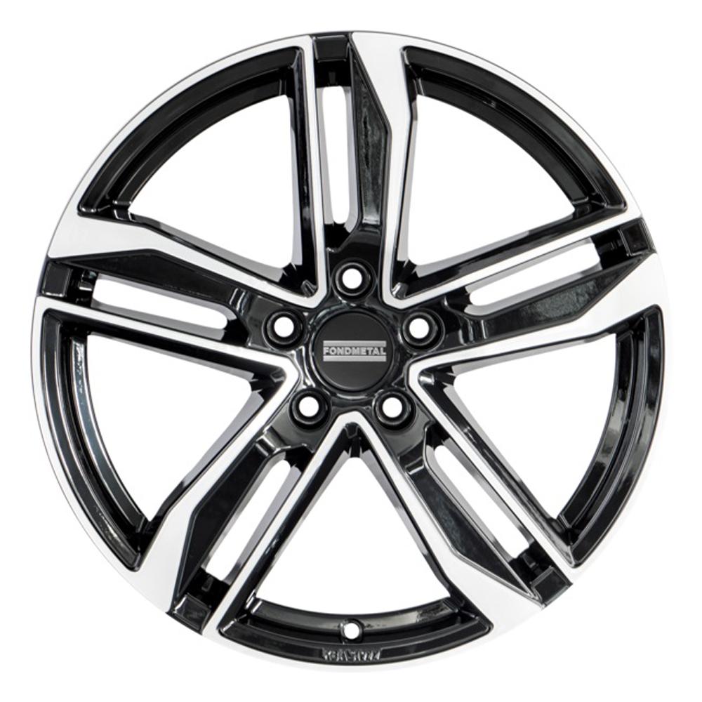 Fondmetal Wheels Fondmetal Wheels 192MB Hexis - Gloss Black Machined
