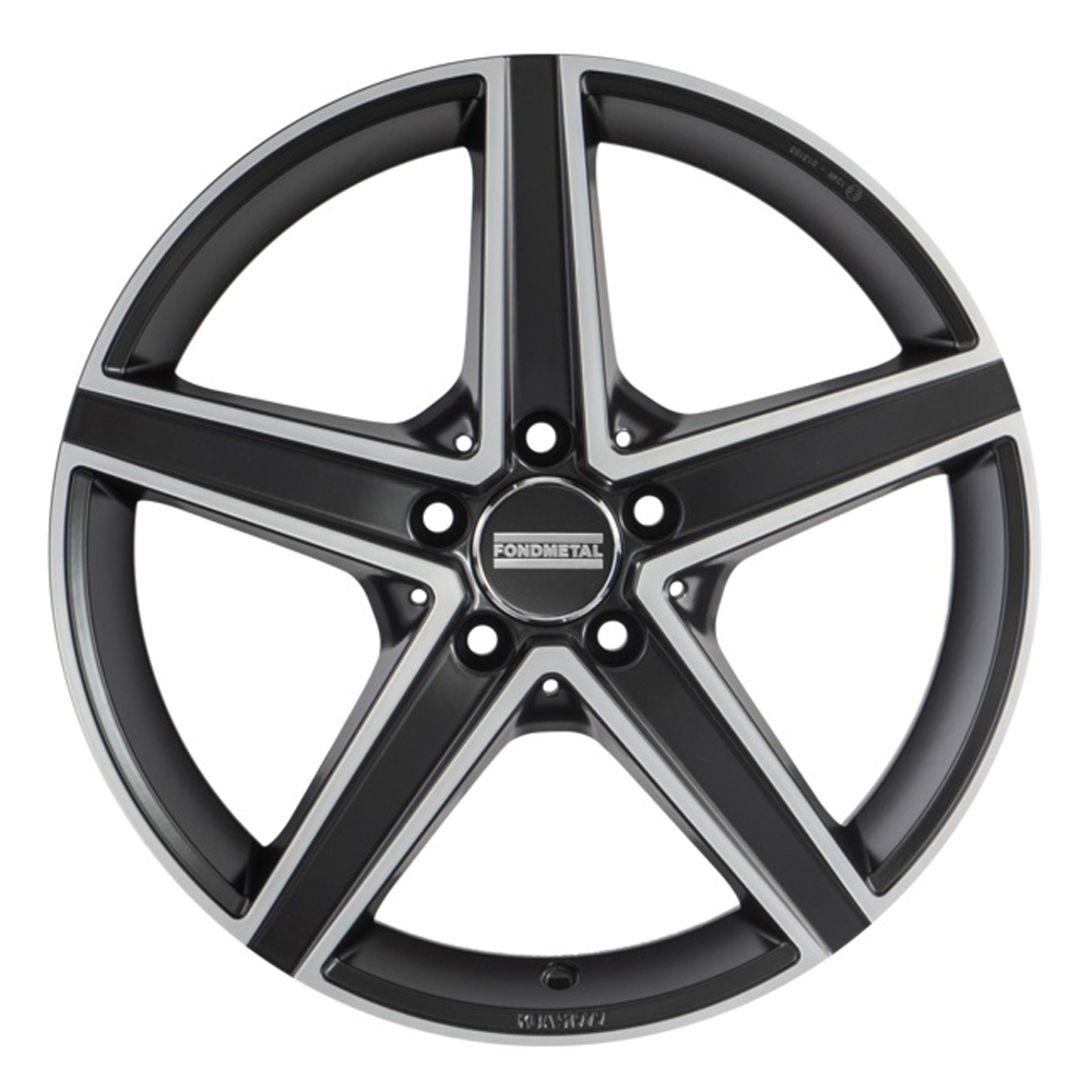 Fondmetal Wheels 194MB Ioke - Matte Black Machined Rim