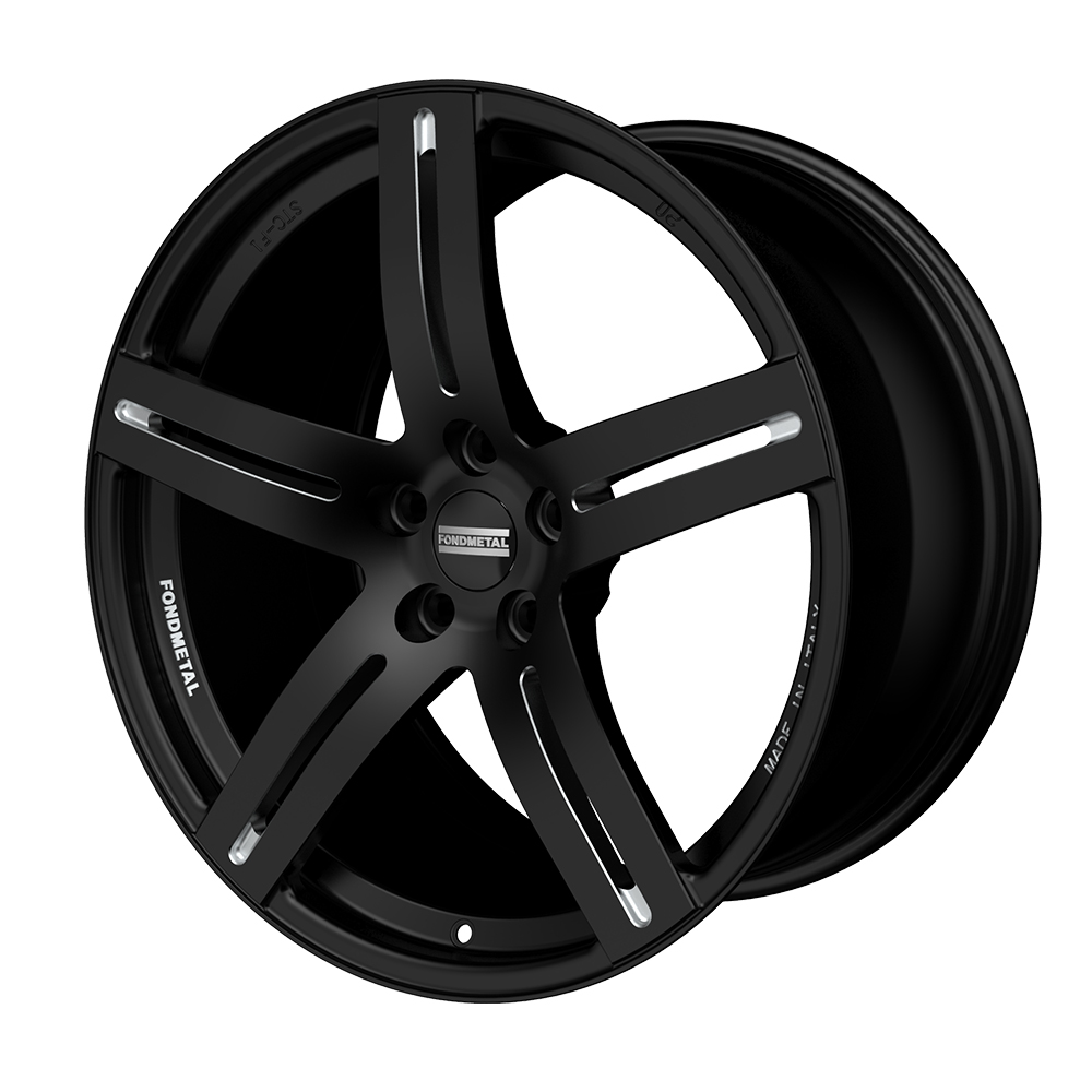 190BM STC-F1 - Black Milled - 21x13