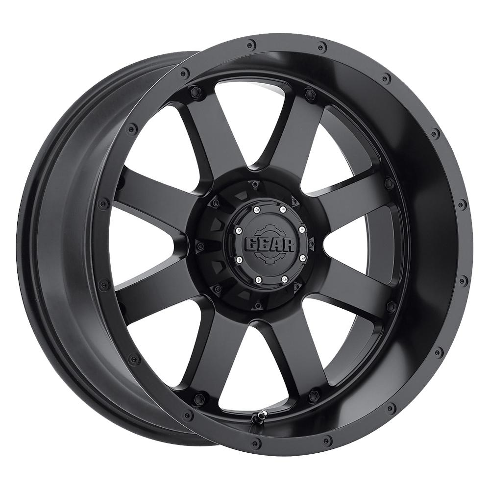 Gear Offroad Wheels 726B Big Block - Satin Black Rim