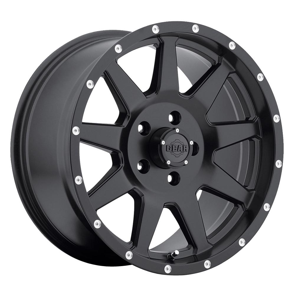 Gear Offroad Wheels 728B Overdrive - Satin Black Rim