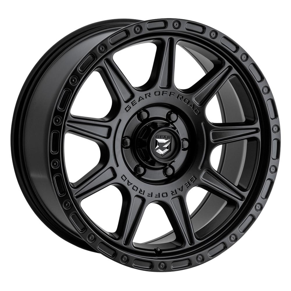 Gear Offroad Wheels 759SB - Satin Black Rim