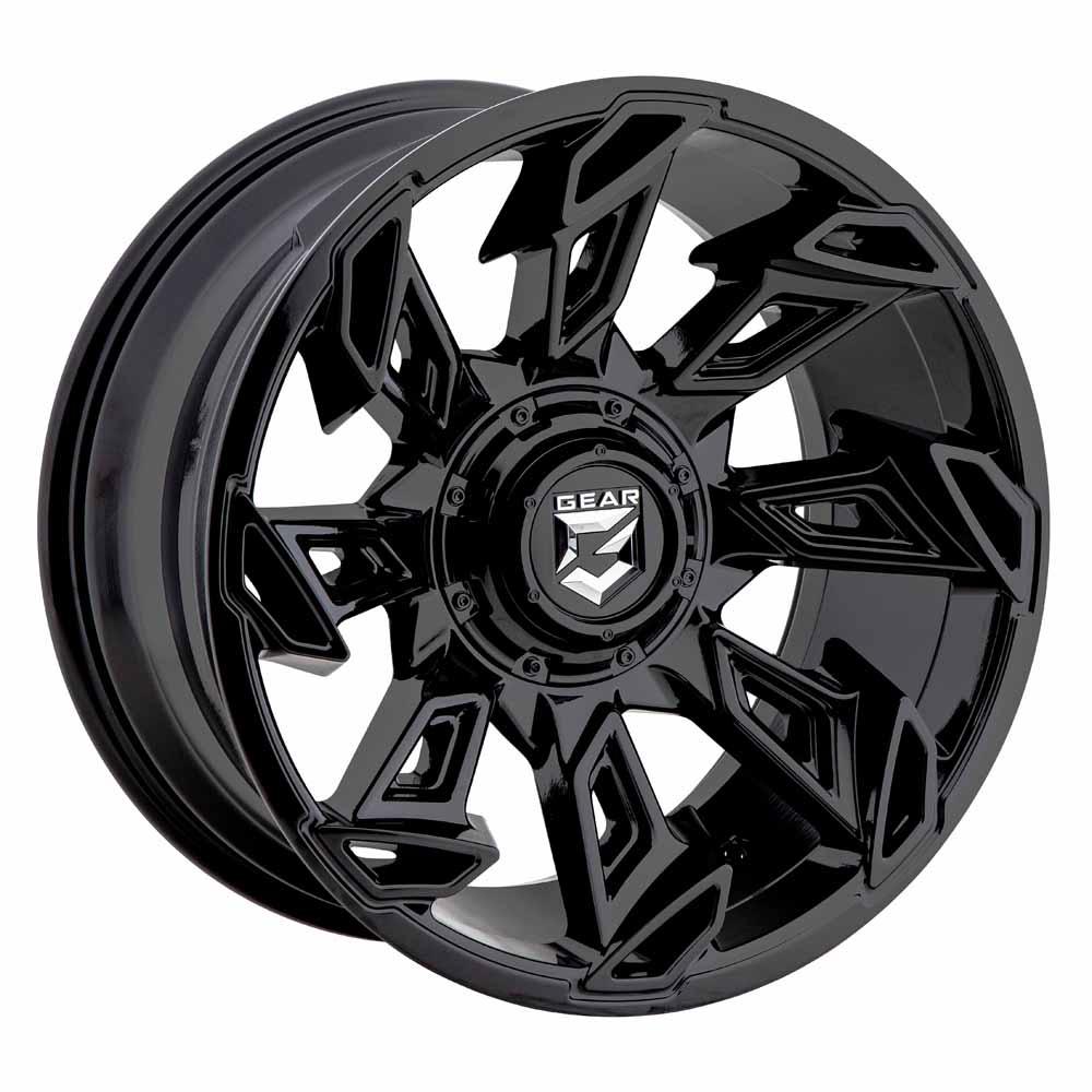 Gear Offroad Wheels 752B Slayer - Gloss Black Rim