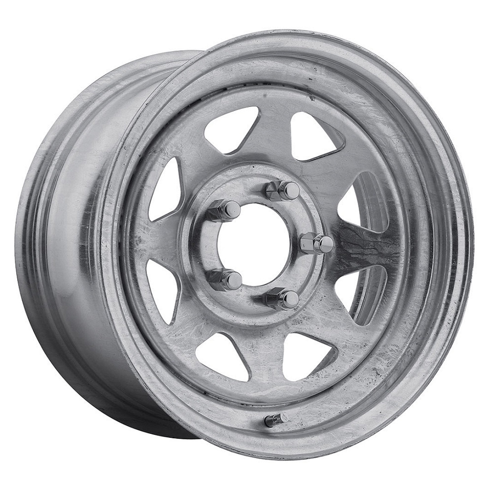 Pacer Wheels 28GA Spoke - Galvanized Rim - 12x4