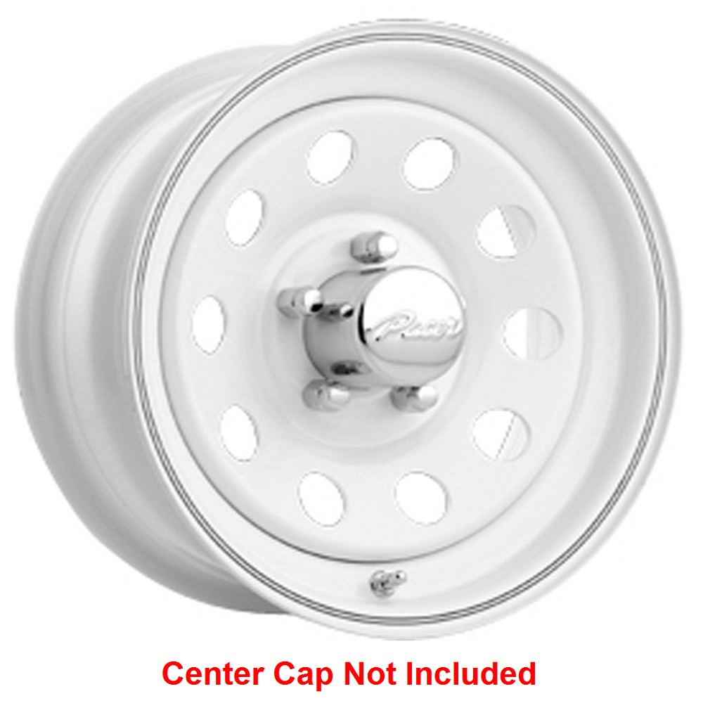 Pacer Wheels 55W Mod - White Rim - 12x4