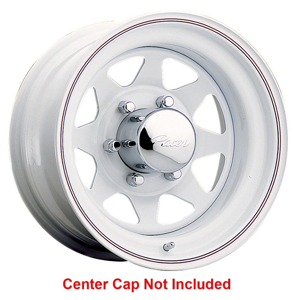 Pacer Wheels 310W Spoke - White Rim - 12x4