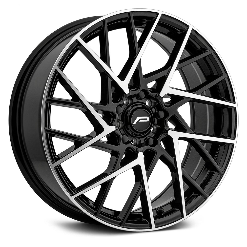 Pacer Wheels 792MB Infinity - Matte Black w/ Machined Face