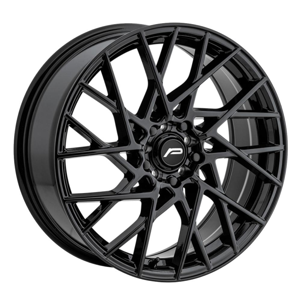 Pacer Wheels 793B Sequence - Black Rim