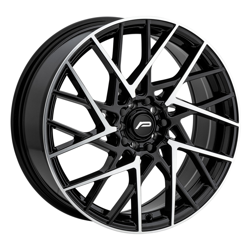 Pacer Wheels 793MB Sequence - Matte Black w/ Machined Face Rim
