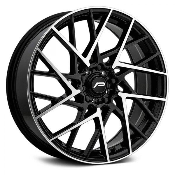 Pacer Wheels 795B Compass - Satin Black & Machined Rim