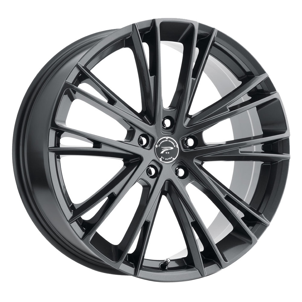 Platinum Wheels 458GN Prophecy - Gloss Gun Metal with Clear-Coat