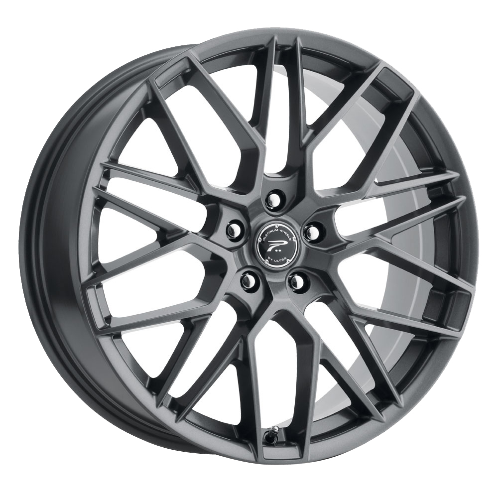 Platinum Wheels 459GN Retribution - Gloss Gun Metal with Clear-Coat