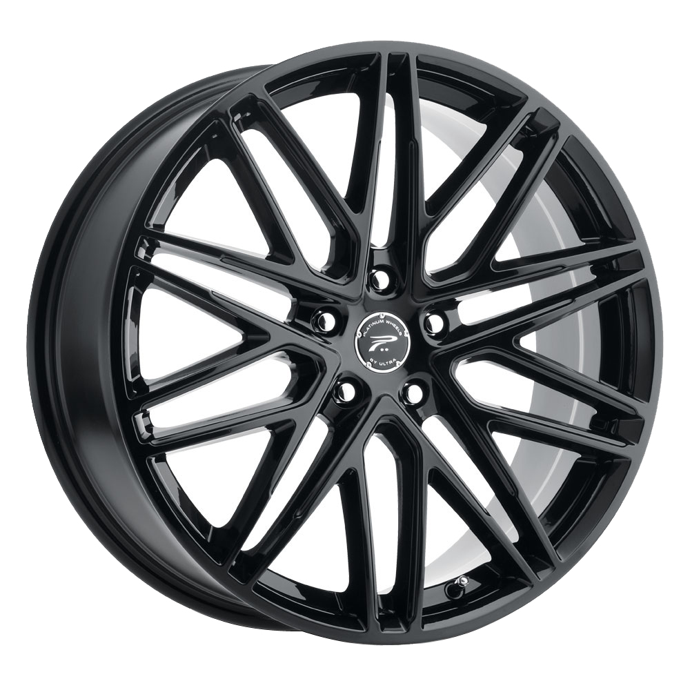 Platinum Wheels 460BK Atonement - Gloss Black and Clear-Coat