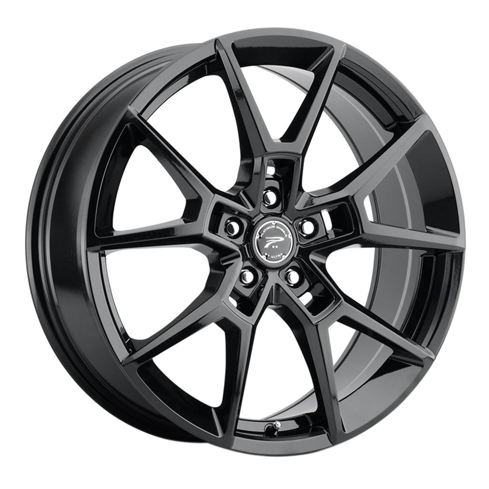 Platinum Wheels 462BK Matrix - Black Rim