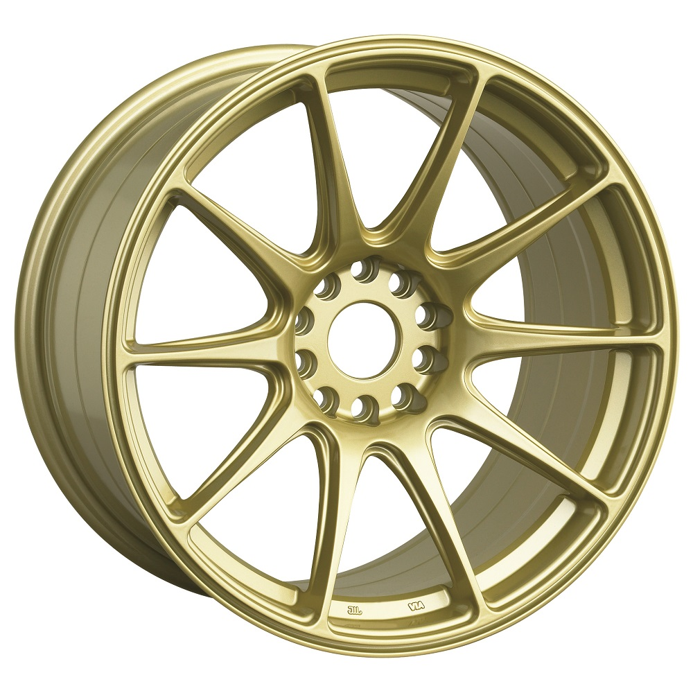 XXR Wheels 527 - Gold Rim - 15x8.25